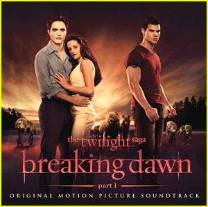 the twilight saga  breaking dawn   part 1  soundtrack  album cover
