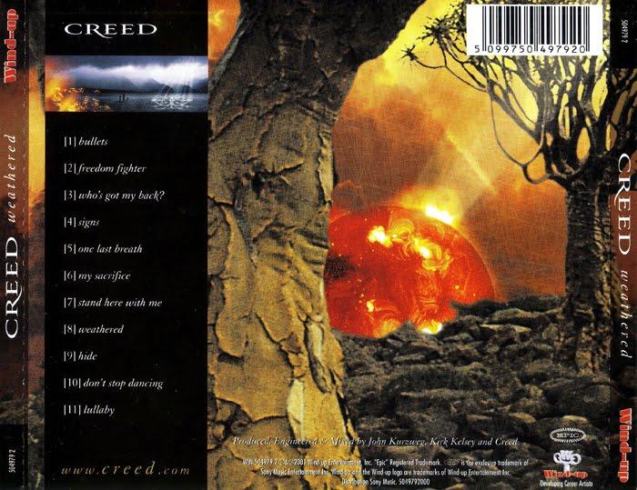 Weathered Album Cover