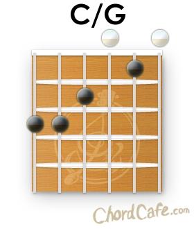 C slash G Chord