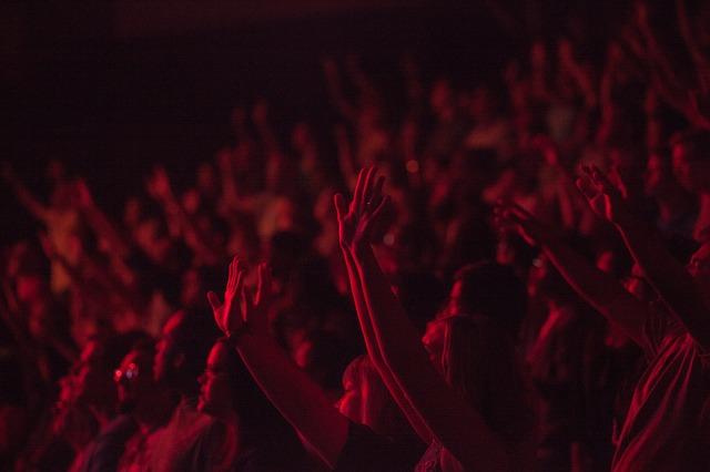credit : https://pixabay.com/en/people-crowd-concert-show-691777/